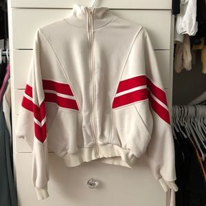 Retro zip up